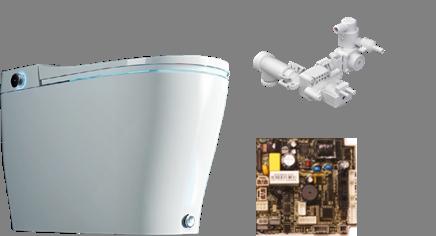 SANIWISE Electronic bidet toilet
